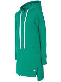 Sukienka damska SUDD200 - zielony