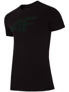 T-shirt męski TSM252 - głęboka czerń