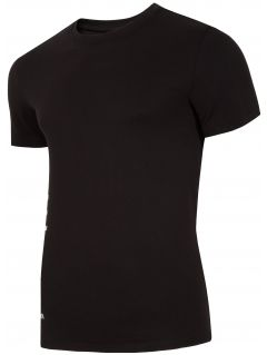T-shirt męski TSM255 - głęboka czerń