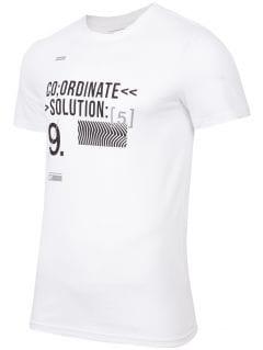 T-shirt męski TSM266 - biały