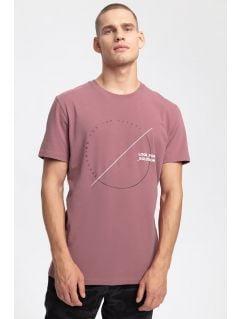 T-shirt męski TSM269 - burgund