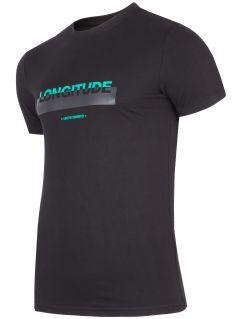 T-shirt męski TSM271 - głęboka czerń