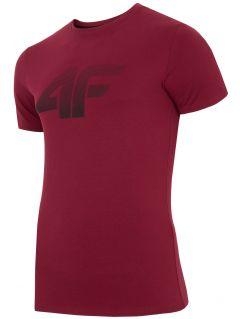 T-shirt męski TSM301 - burgund