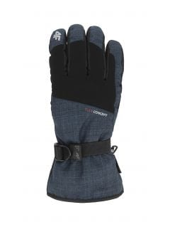 Rękawice narciarskie męskie REM002 - ciemny granat