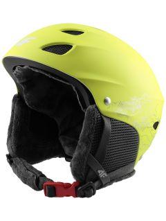 Kask narciarski dla dużych dzieci (chłopców) JKSM400 - soczysta zieleń