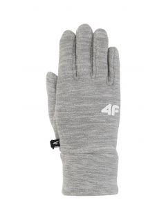 Rękawiczki dla dużych dzieci (dziewcząt) JRED200 - chłodny jasny szary melanż