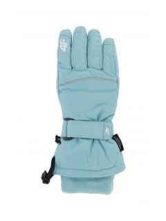 Rękawice narciarskie dla dużych dzieci (dziewcząt) JRED402 - mięta