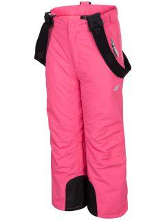 Spodnie narciarskie dla małych dzieci (dziewcząt) JSPDN301 - fuksja