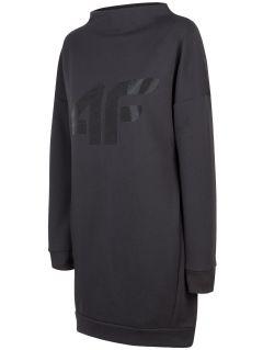 Sukienka damska SUDD210 - głęboka czerń