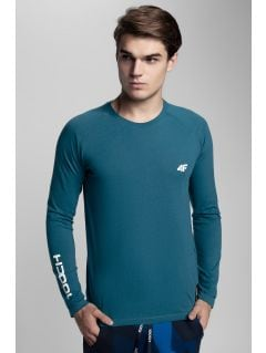Longsleeve męski Kamil Stoch Collection TSML500 - morska zieleń