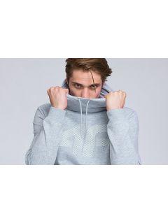 Bluza męska BLM002 - chłodny jasny szary