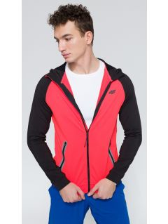 Bluza treningowa męska BLMF207 - czerwony