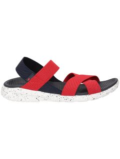 Sandały damskie SAD201 - czerwony