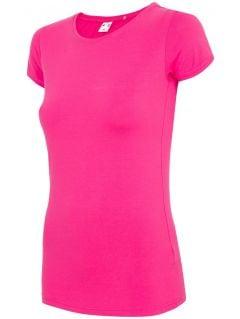 T-shirt damski TSD300 - różowy