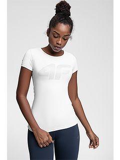 Koszulka treningowa damska TSDF107 - biały