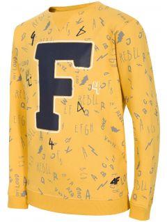 Bluza dla dużych dzieci (chłopców) JBLM216 - żółty