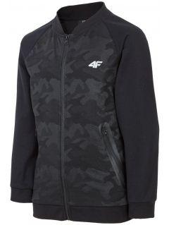 Bluza dla dużych dzieci (chłopców) JBLM400 - czarny
