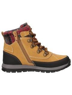 Buty jesienne dla dużych dzieci (chłopców) JOBMA202 - żółty allover