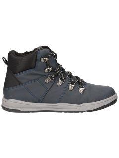 Buty jesienne dla dużych dzieci (chłopców) JOBMA203 - granat