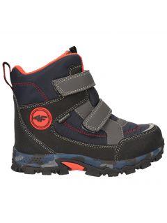 Buty zimowe dla dużych dzieci (chłopców) JOBMW405 - morska zieleń