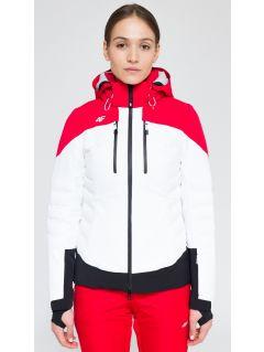 Kurtka narciarska damska KUDN160 - biały