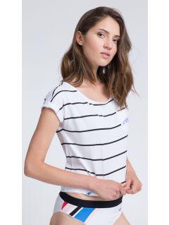 T-shirt damski TSD011 - biały