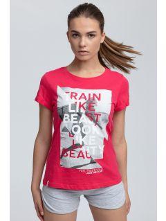 T-shirt damski TSD015 - czerwony