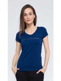 T-shirt damski TSD259 - granatowy