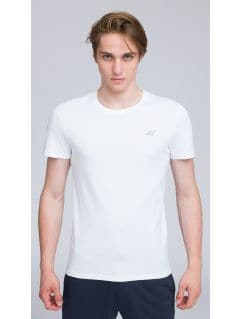 T-shirt męski TSM002 - biały