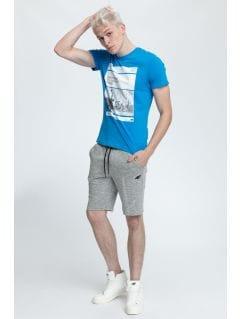 T-shirt męski TSM027 - jasny niebieski