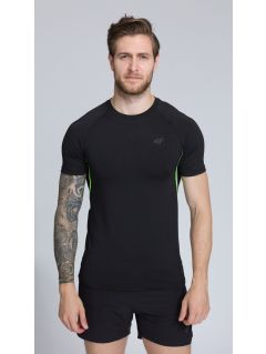 Koszulka treningowa męska TSMF252 - głęboka czerń