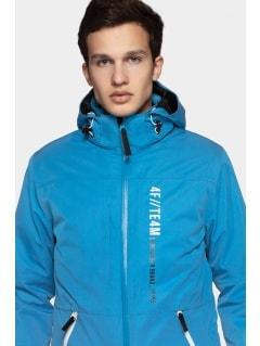 b9430c092c530 Kurtka narciarska męska KUMN552R - niebieski