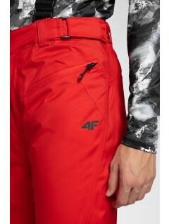 e8eeca0314 Spodnie narciarskie męskie SPMN251 - czerwony