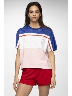 78f4601d T-Shirt damski TSD413 - niebieski
