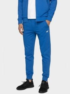 22ca3c65f079da Spodnie dresowe męskie SPMD300 - niebieski