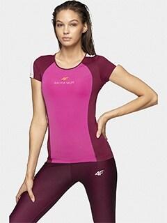 Koszulki termoaktywne damskie szybkoschnące, termiczne 4F