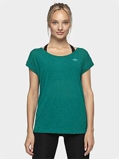 3931ff0405022d Koszulki damskie (t-shirt) 4F. Koszulki sportowe damskie z nadrukiem.