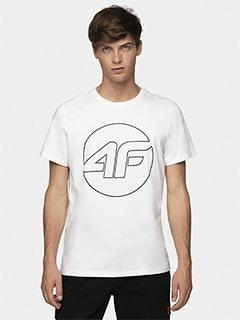 79d324cadaec52 T-shirty męskie 4F - Koszulki bawełniane i termoaktywne