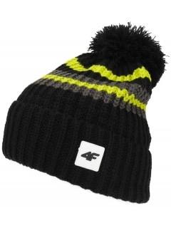 6184c7d4cf5add Czapki zimowe męskie - sportowe, do biegania, narciarskie - sklep 4F