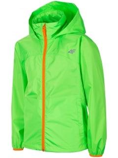 583baa1b6 Kurtka sportowa chłopięca (122-164) JKUM403 - soczysta zieleń neon