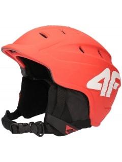 686f45adc Kask narciarski męski KSM251 - czerwony neon