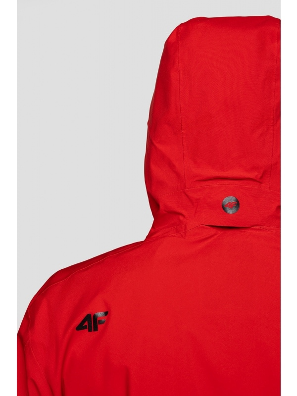 kurtka funkcyjna męska kumt201 czerwony