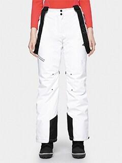 4f spodnie narciarskie damskie pod piętę