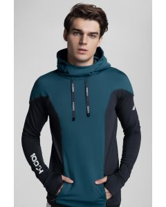 Bluza męska Kamil Stoch Collection BLM500 - morska zieleń