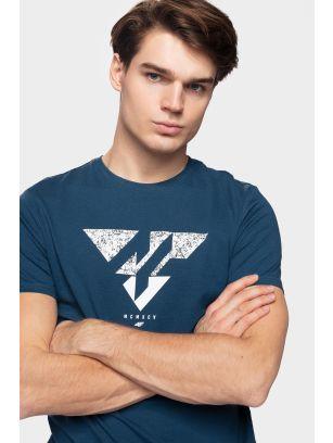 T-shirt męski TSM201 - granat