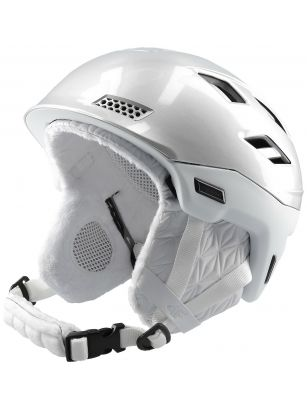 Kask narciarski damski KSD151 - srebrny