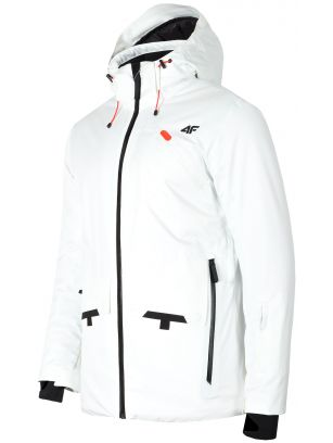 Kurtka narciarska męska KUMN255 - biały