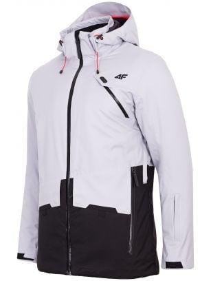 Kurtka narciarska męska KUMN255 - szary