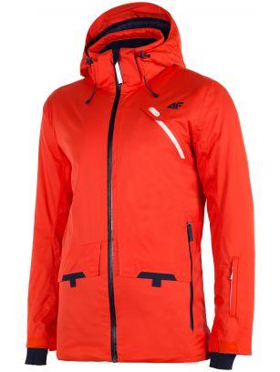 Kurtka narciarska męska KUMN255 - pomarańcz