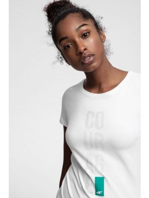 T-shirt damski TSD226 - biały
